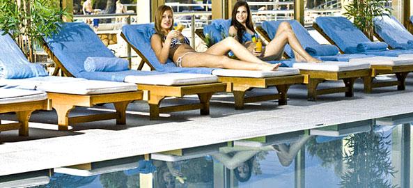Hotel z basenem krytym w Egipcie